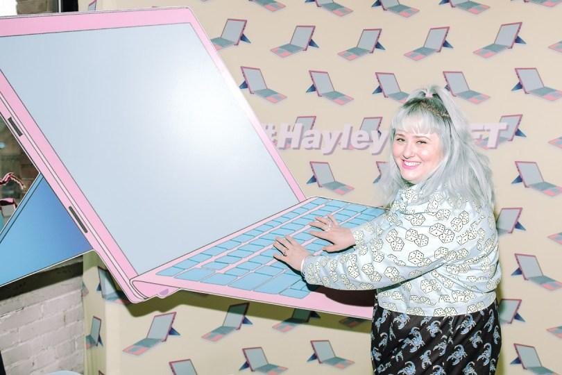 Hayley Elsaesser x Microsoft