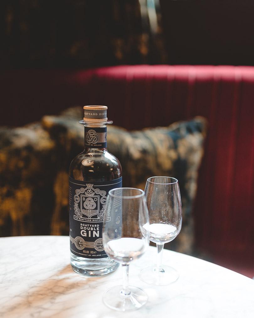 Gin tasting at Muriels Cafe Bar