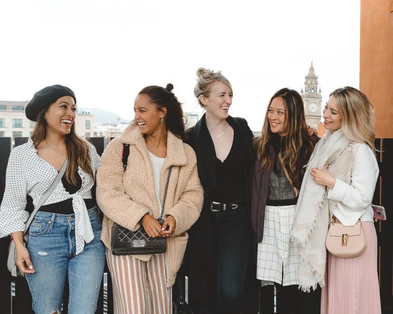 With Filipa Jackson, Lauren McPhillips, Isabelle Cheng and Joelle Anello