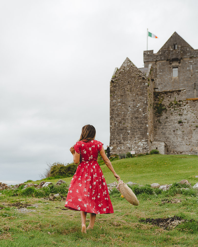 At Dunguaire Castle in Ireland