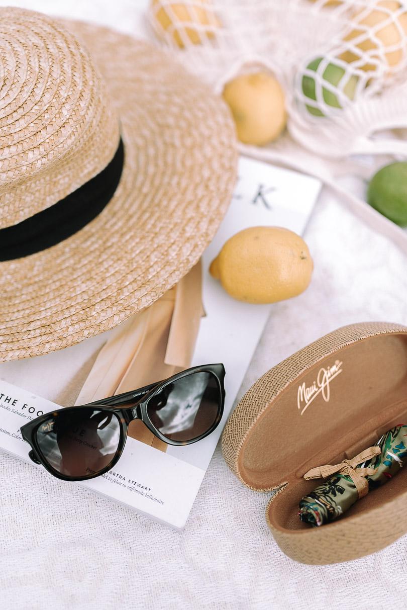 Close up of Maui Jim sunglasses