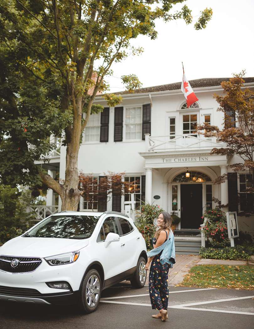 Niagara-on-the-lake for the weekend with a Buick Encore