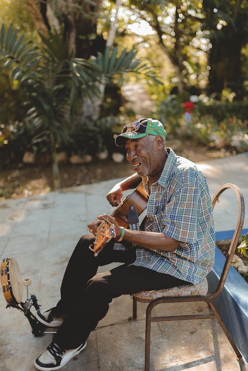 Jamaican man Martha Brae River