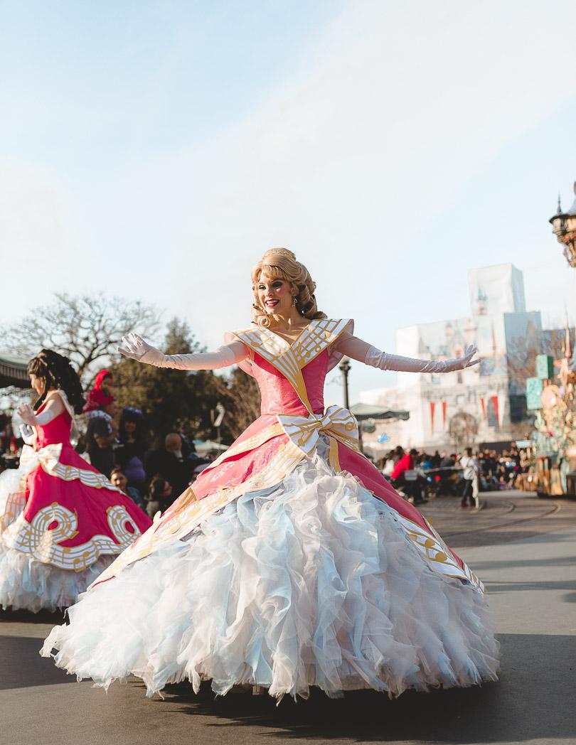 princess soundsational parade disneyland