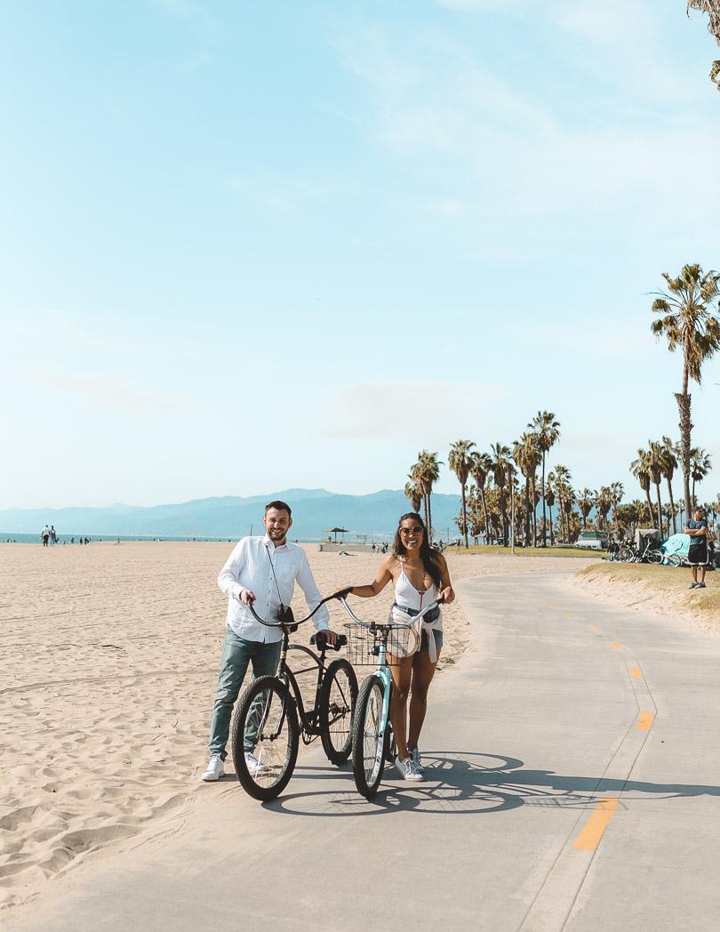 bike riding venice beach