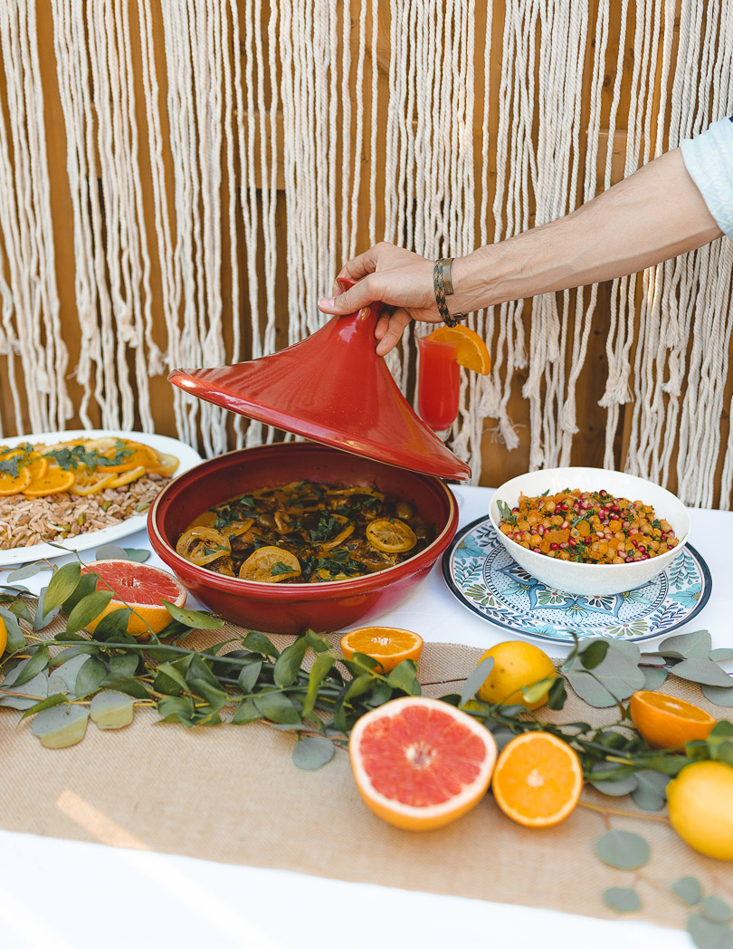 tagine with citrus