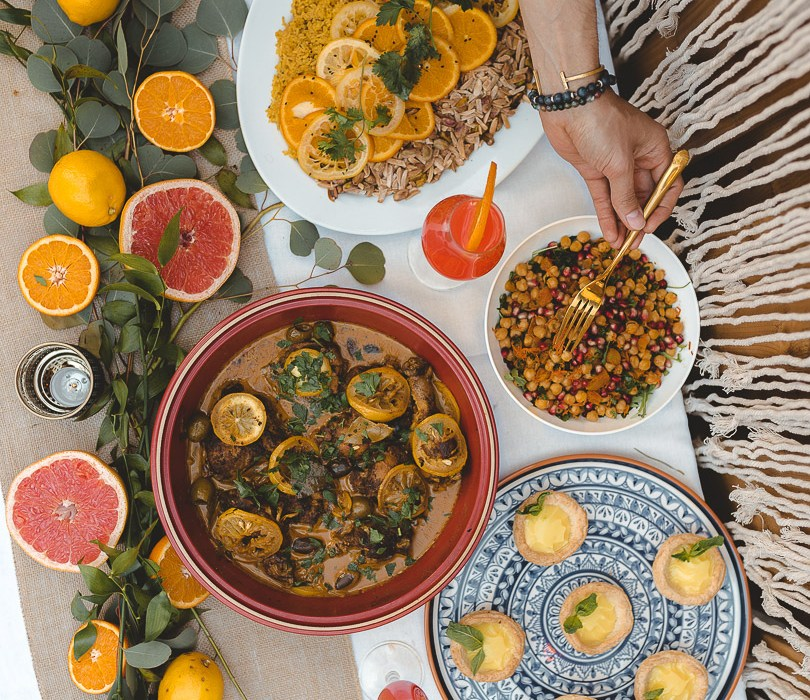 Moroccan citrus party