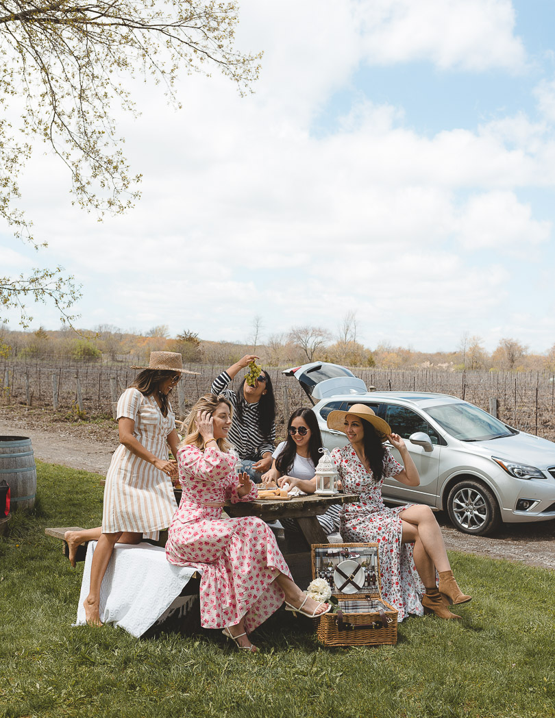 The Grange Winery picnic