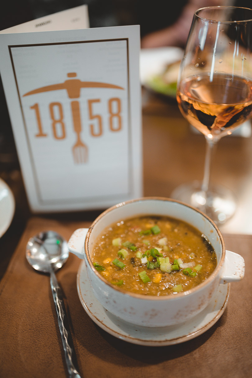 Green chili at Restaurant 1858