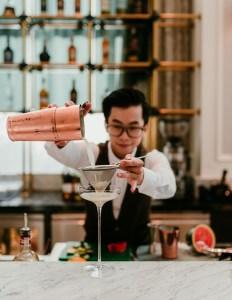 Lobby Bar at Mai House Saigon