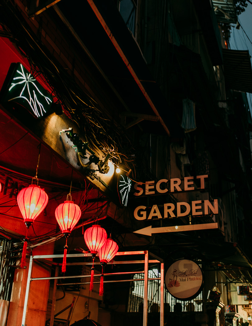 Secret Garden Restaurant in Ho Chi Minh City