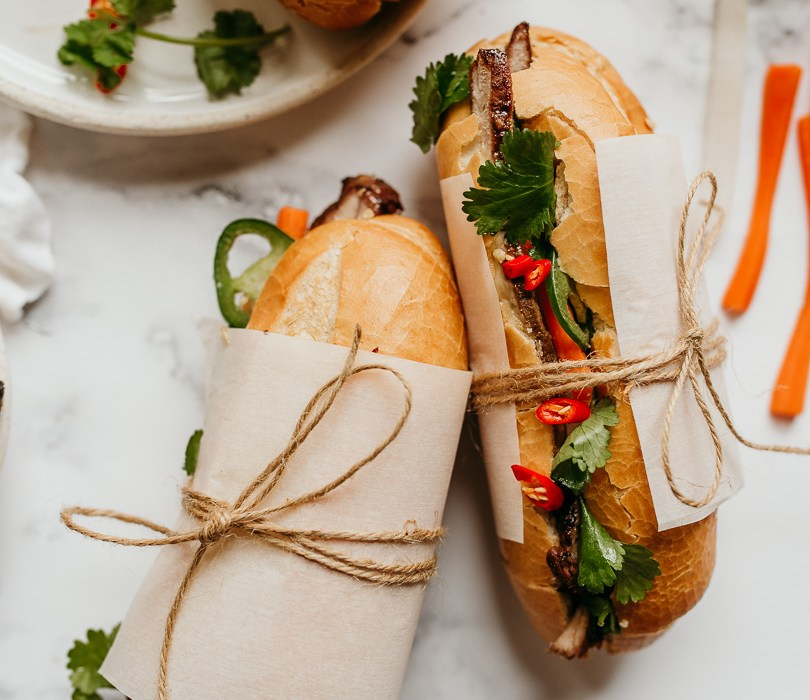 Perfect banh mi sandwich at home