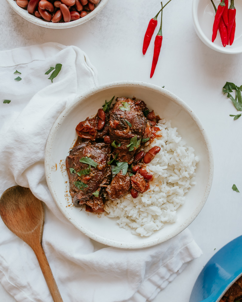 Trinidadian Stew Chicken