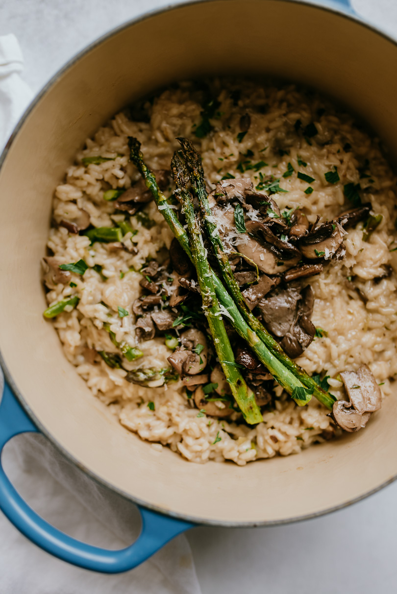 pot of risotto