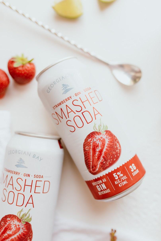Georgian Bay Strawberry Smashed Soda