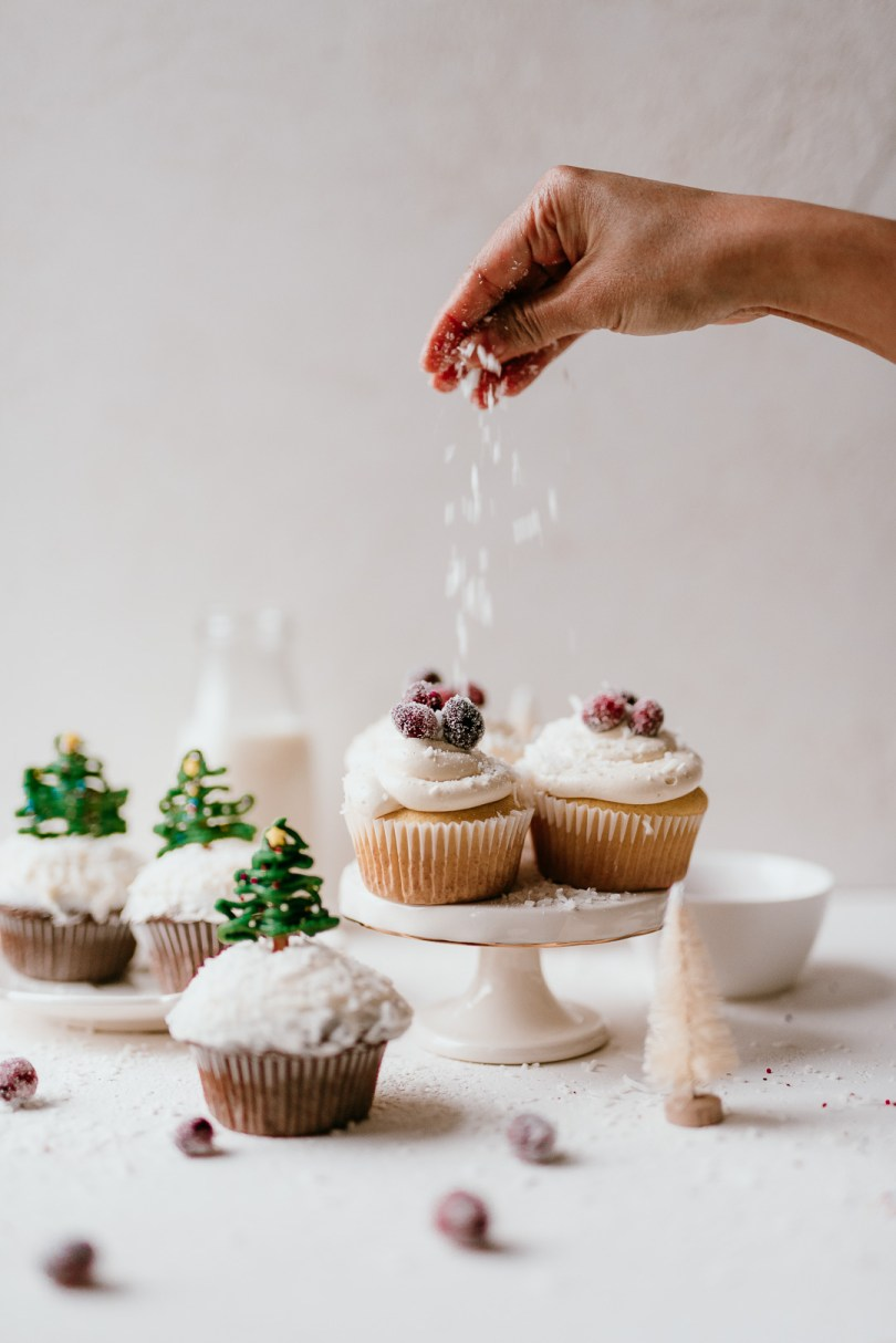 easy holiday cupcakes