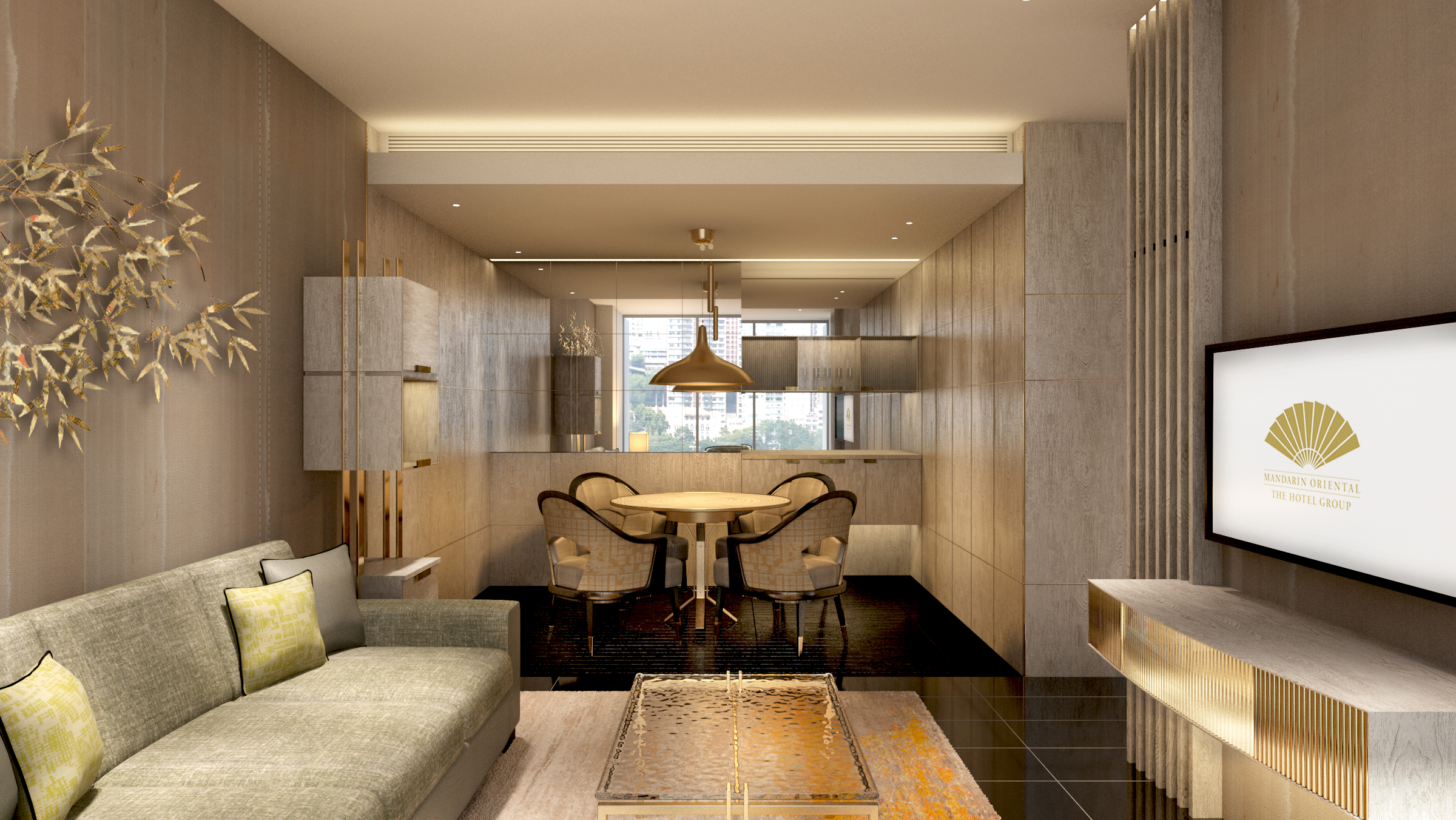 oriental living rooms center table for room what's new at the mandarin hotels – dine, travel ...