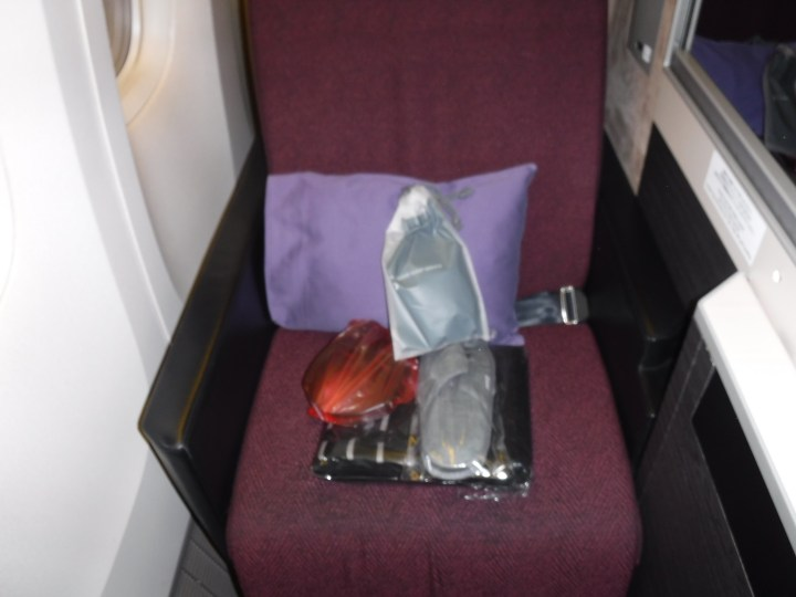 JAL 777 business class seat