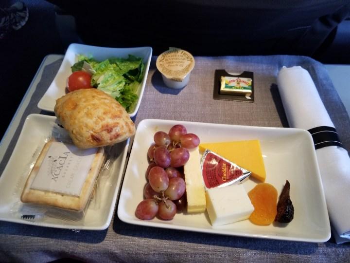 Delta Airlines In Flight Food Drink