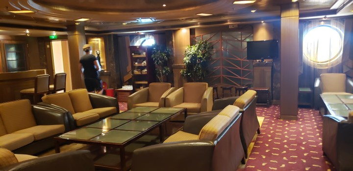 The Liberty of the Seas Connoisseur Club is one of my favorite spots on the ship. Unfortunately, their limited drink offerings mean it is not one of my Royal Caribbean bar menus.