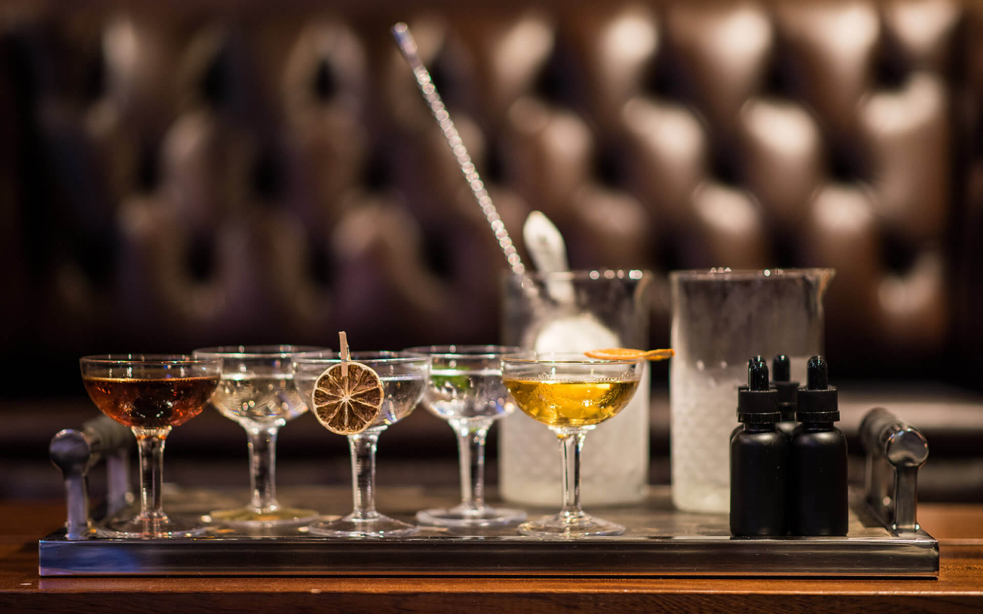 The Martini Experience at DINE, Edinburgh