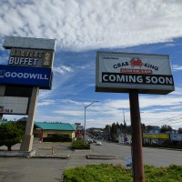 Crab King Cajun seafood opening where Tacoma Outback Steakhouse recently closed
