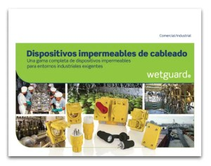 Dispositivos impermeables de cableado Wetguard - Leviton