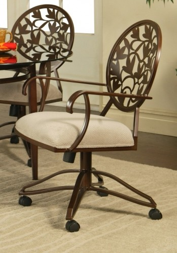 Chairs Dinette Casters And Swivel