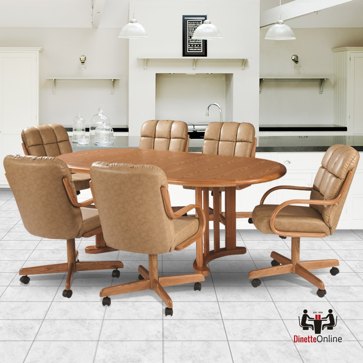 living room swivel glider chairs designs for douglas casual natasha 7 pc caster dining set