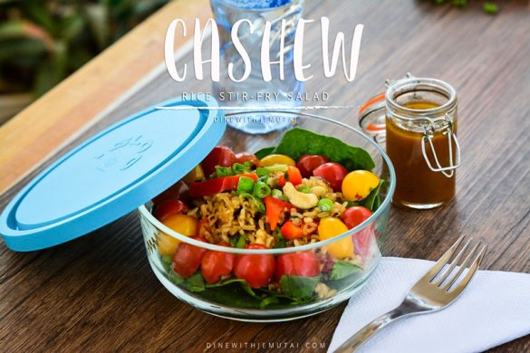 Cashew Rice Salad