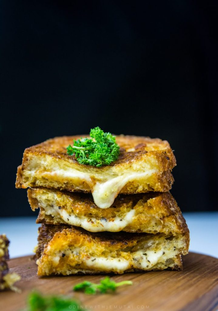 Paprika Grilled Cheese