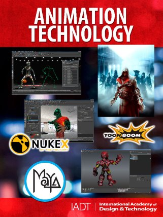 Animation Technology Poster | International Academy of Design & Technology