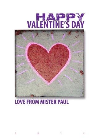 Valentine Card 2014
