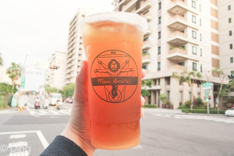 台南東區飲料推薦 天然手作飲品,大推100%花蜜無摻糖蜂蜜綠,東興路上「Mon Ami 牧茗茶飲」。