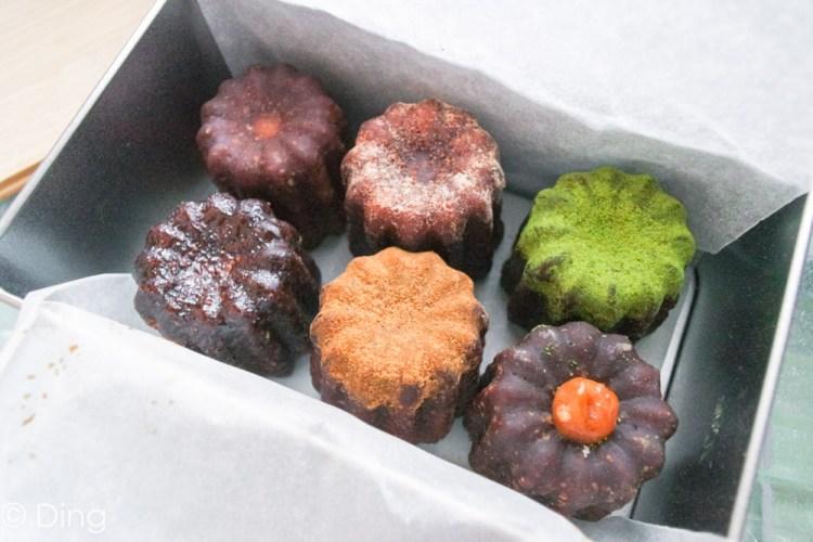 台南中西區甜點推薦 隱藏在神農街,創意十足法式甜點,經典可麗露禮盒「海丘甜點工作室」。
