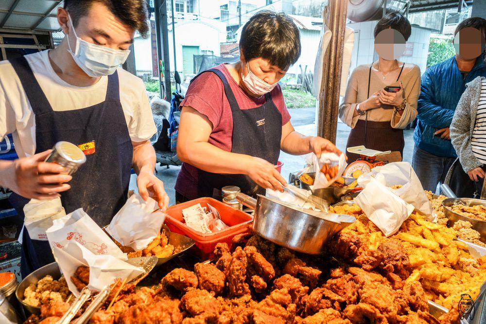 台南新化美食 最強炸雞「葉麥克炸雞」,用中藥獨家秘方調配,限量秒殺超美味炸雞,讓客人買到毫不手軟。