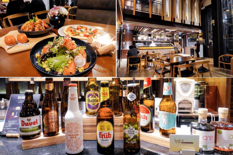 台南中西區 約會聚餐餐廳推薦,LesOmbres光影新歐陸料理裝潢質感舒適,餐點種類豐富,還有多種適合搭配餐點的酒喔!。