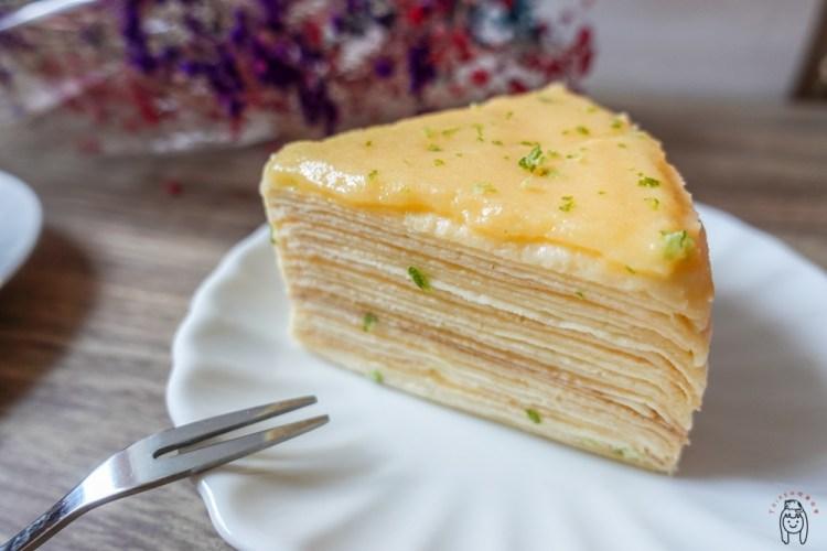 台南東區咖啡館 鉄工咖啡館,純手工製作千層蛋糕、蛋糕捲,甜點每日隨機更換,每天都有不同驚喜!