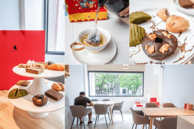 台中喜餅推薦  | AMOUREUX純愛甜心,喜餅試吃採預約制,有美感與質感兼具的喜餅禮盒及以茶製作的手工喜餅。