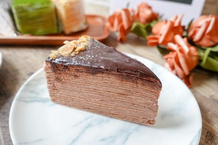 台南安平甜點|小鹿手作千層,隱藏版高CP值千層蛋糕,專售7吋整顆千層、綜合千層,適合當生日蛋糕喔!