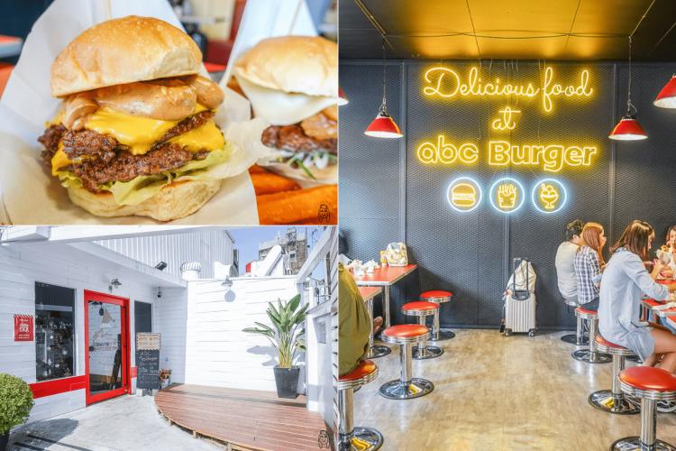 台南中西區美食 ABC Burger,尊王路必訪道地美式漢堡店,激推銷魂多汁雙層漢堡肉!