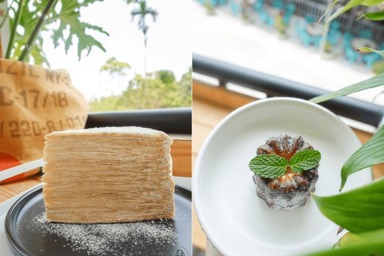 台南楠西梅嶺美食 | Ouch Coffee,梅嶺隱藏版咖啡廳,有超高層數千層蛋糕跟豐富甜點、飲品。