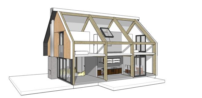 Goedkoop huis bouwen prefab finest aanbouw zonderland for Goedkoop huis laten bouwen