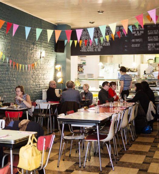 Jour de fete restaurant Brussel
