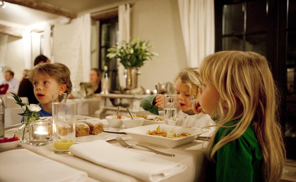 Sapere restaurant kindvriendelijk