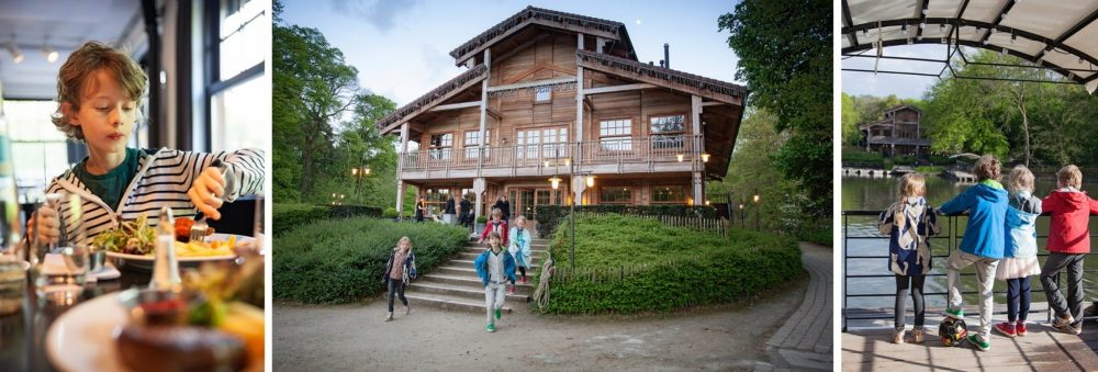 Brussel met kinderen / Brussels with kids: Chalet Robinson restaurant Brussel