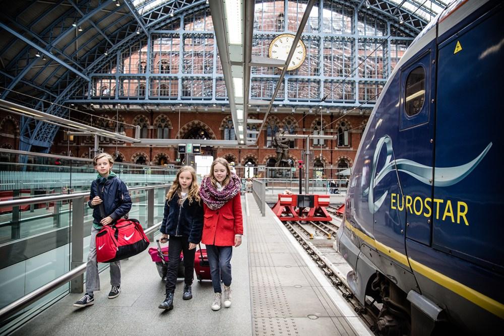 Eurostar Londen Dingenzoekers