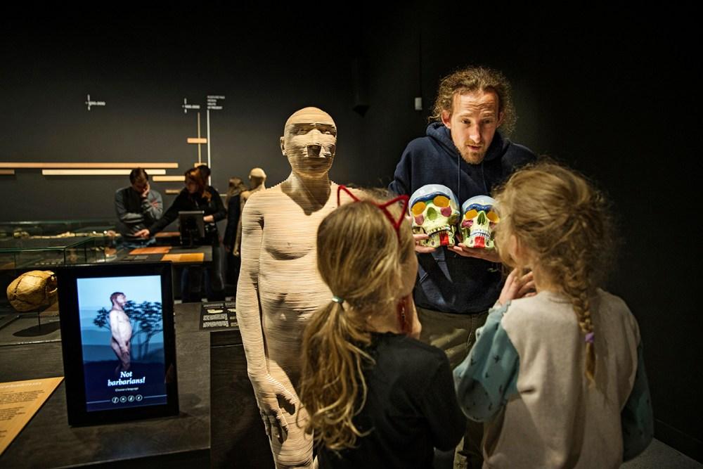 Museum voor Natuurwetenschappen Galerij van de Mens