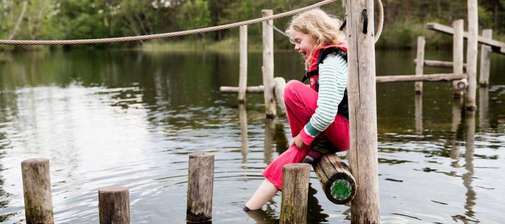 Originele overnachting: Kampeervlot met kinderen