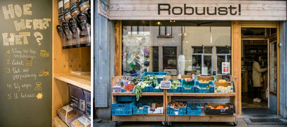 verpakkingsvrije winkel Robuust Antwerpen